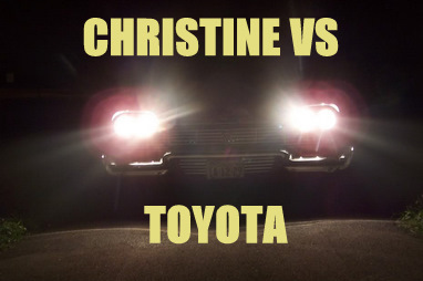christine vs toyota